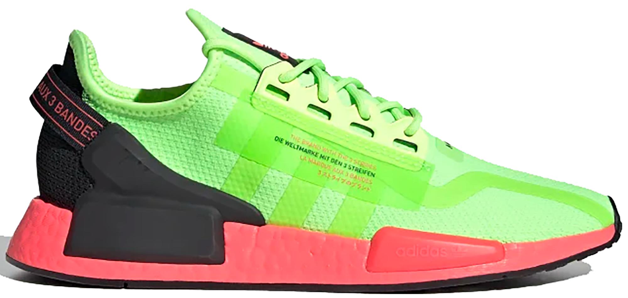 adidas NMD R1 V2 Watermelon Pack Green