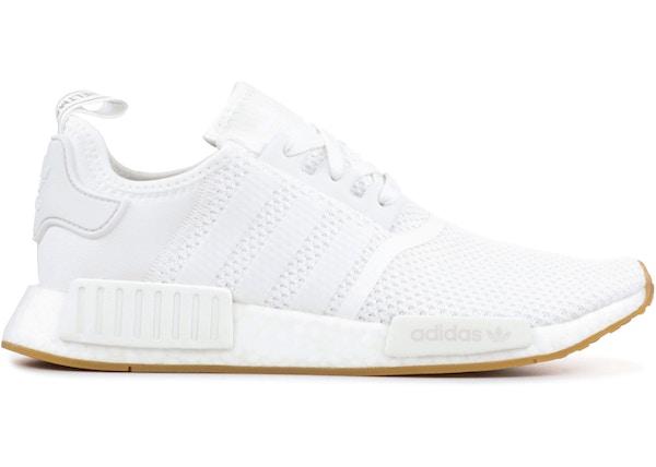 05130ddc3e579 adidas NMD R1 White Gum (2018) - D96635