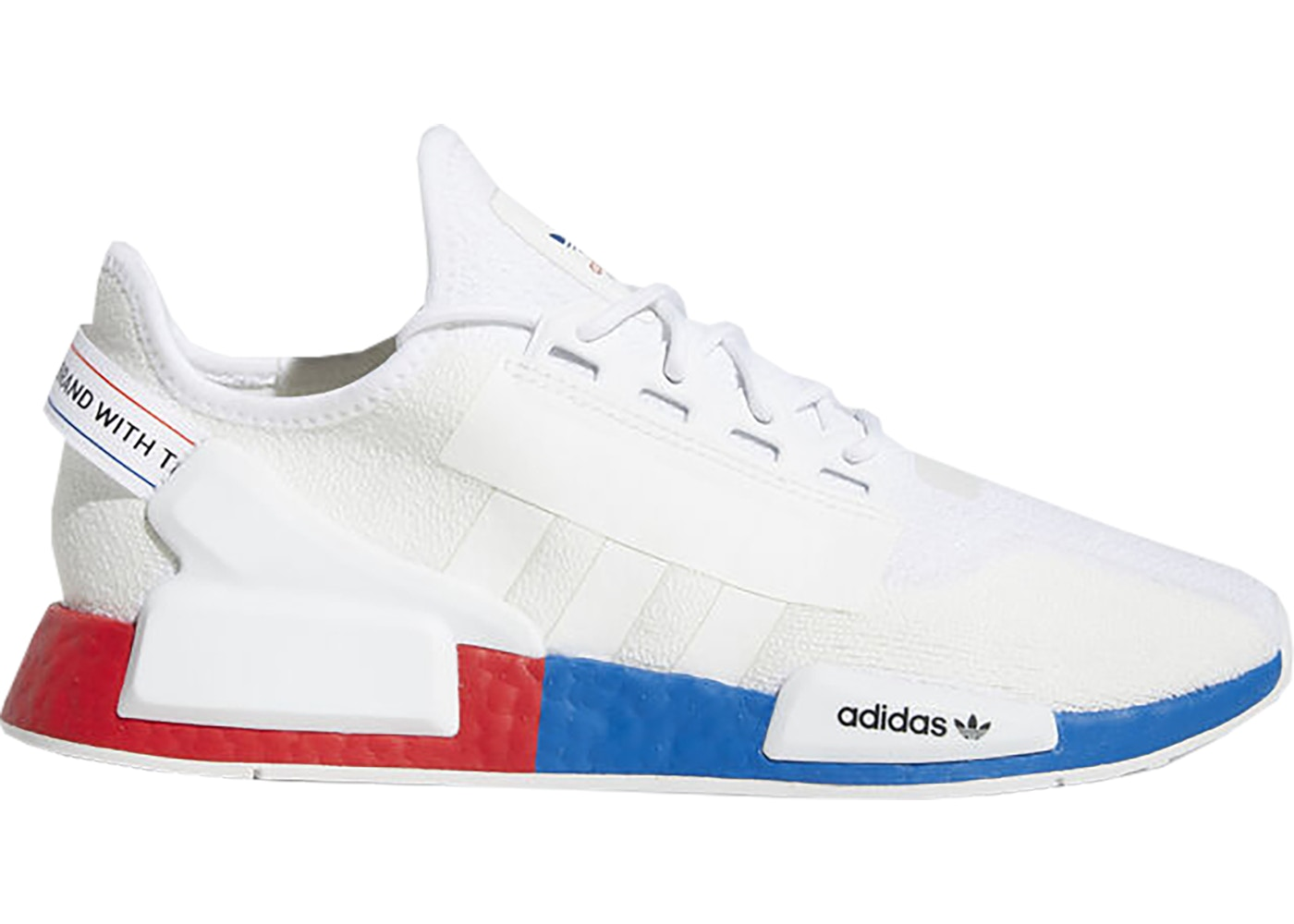 Adidas Nmd R1 White Red Blue Fx4148