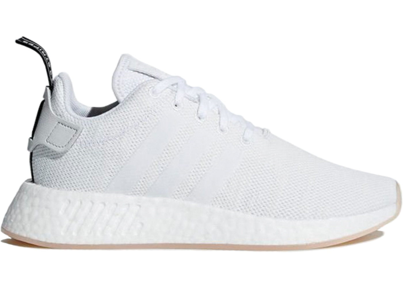 detailed look ce38a 08744 adidas NMD R2 Crystal White (W)