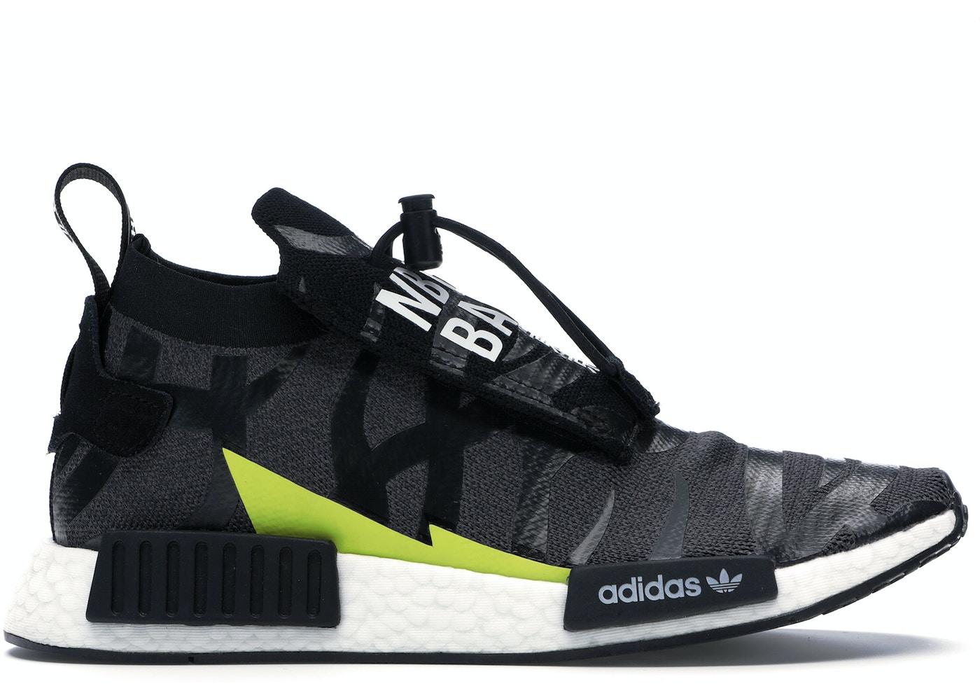 finest selection e4092 3a01a adidas NMD TS1 Bape x Neighborhood
