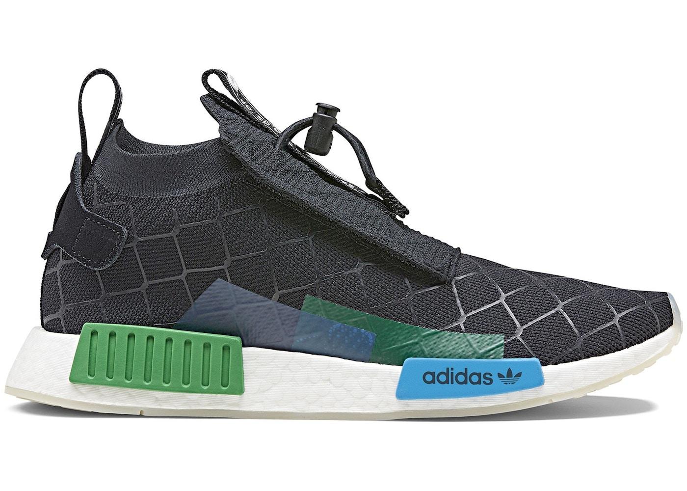 adidas nmd ts1 gore tex core black primeknit mita cages and