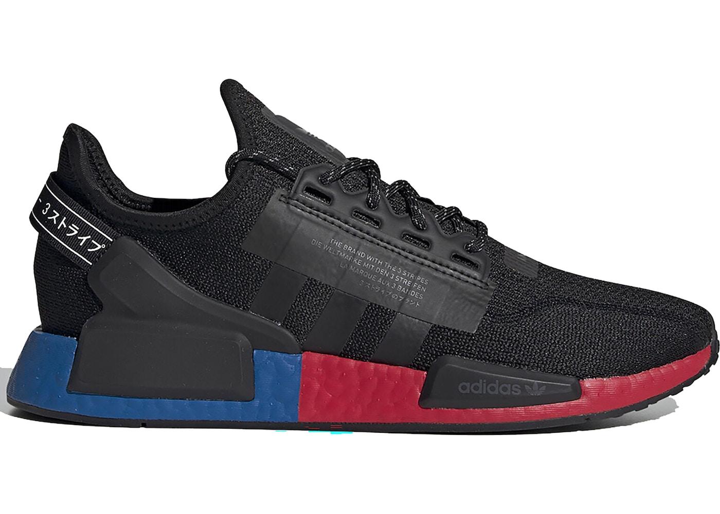 adidas nmd sneaker low core black