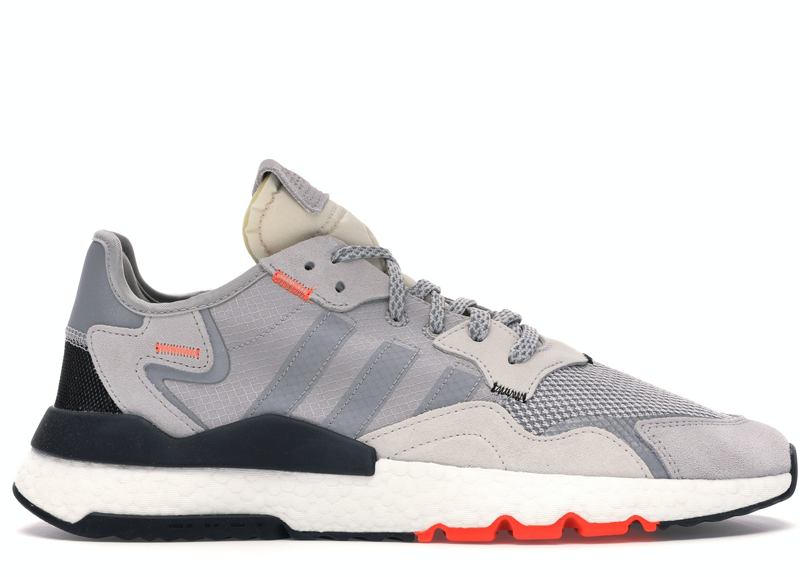 adidas Nite Jogger Grey Two Solar Orange