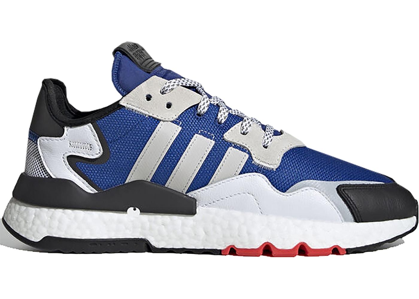 adidas nite jogger bleu homme