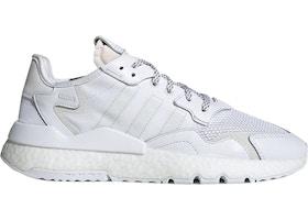 adidas Nite Jogger Triple White