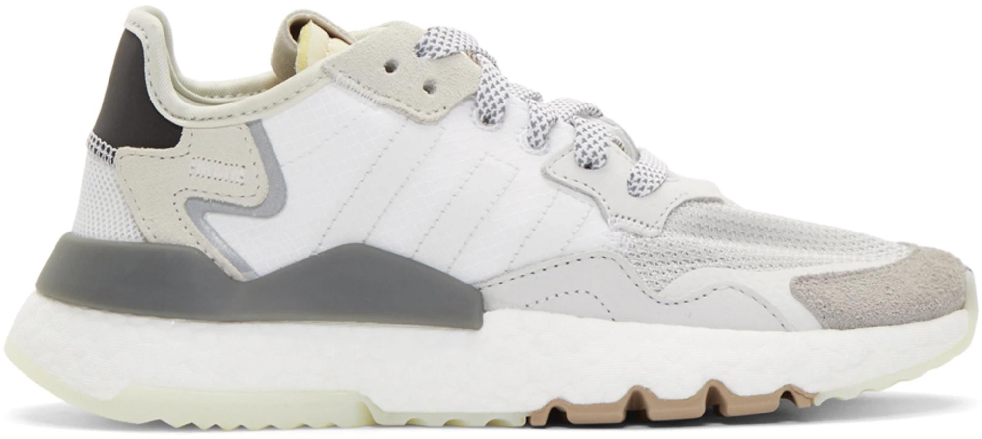 adidas Nite Jogger White Grey