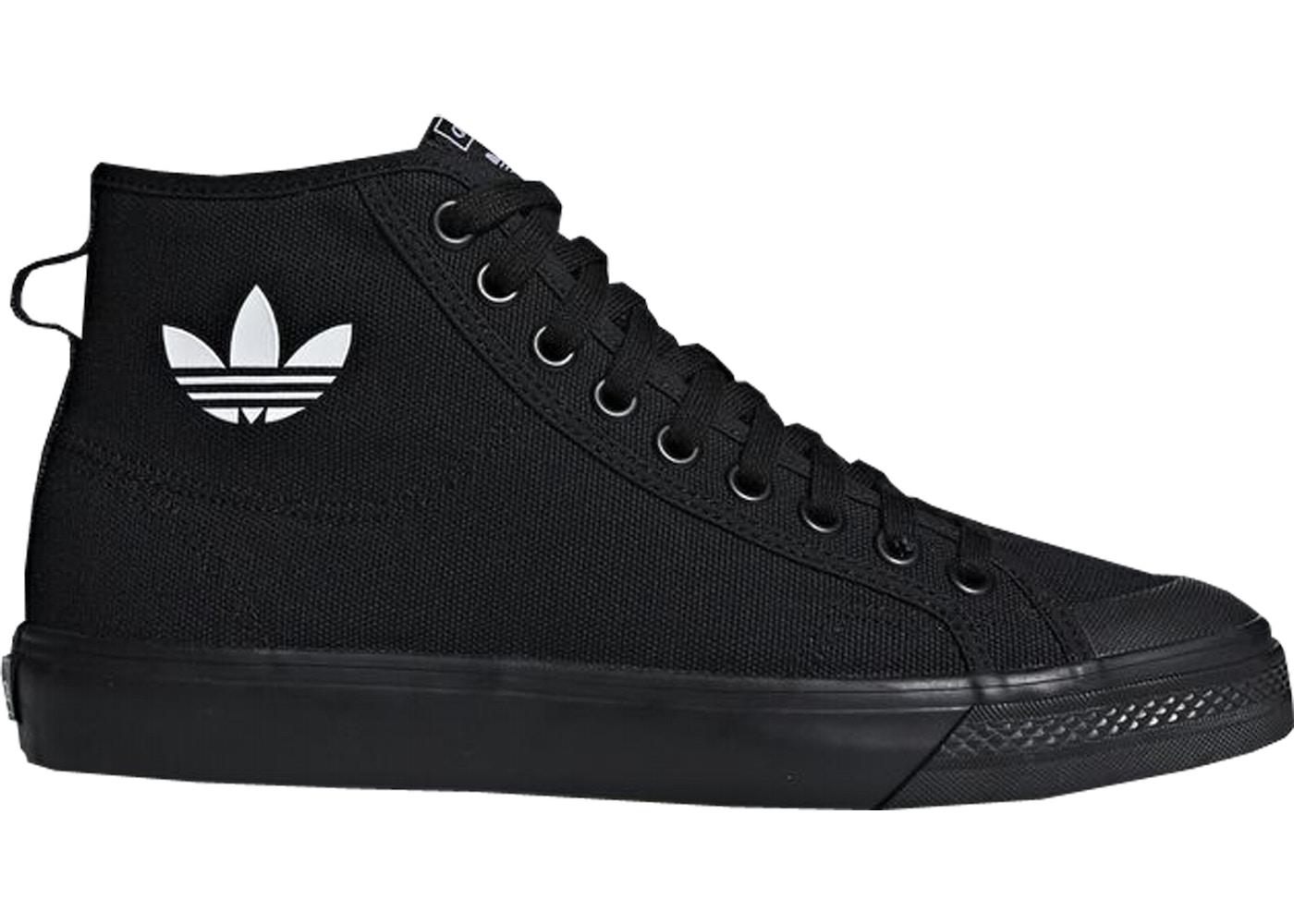 le dernier 98581 ead29 adidas Nizza Hi Core Black
