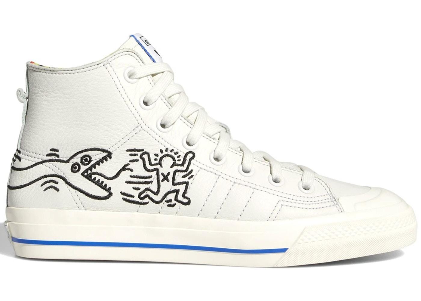 meilleur pas cher d6409 0f789 adidas Nizza Hi Keith Haring