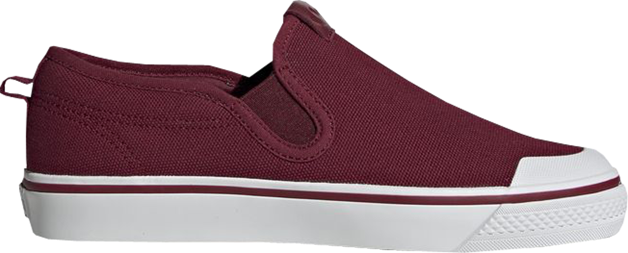 adidas Nizza Slip-On Collegiate Burgundy (W)