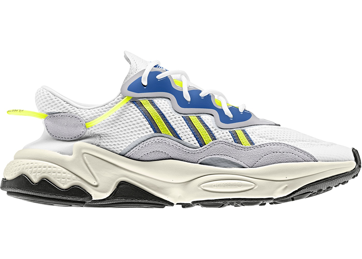 895f0844 adidas Ozweego Cloud White Solar Yellow - EE7009