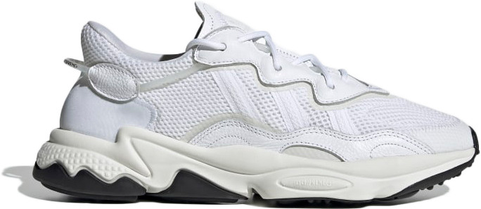 Ozweego Pusha T White in Cloud White/Off White/Core Black