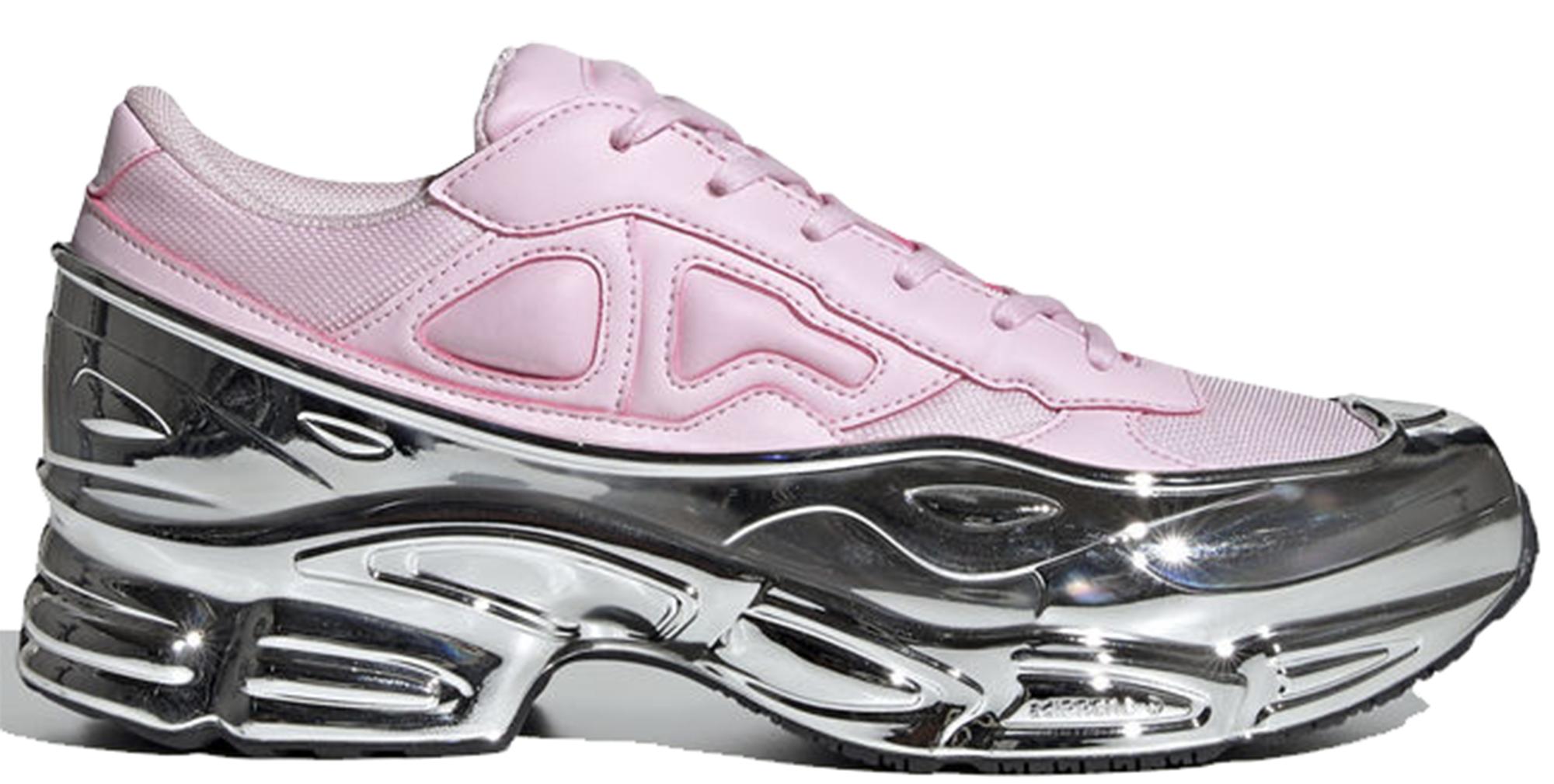 adidas Ozweego Raf Simons Clear Pink Silver Metallic