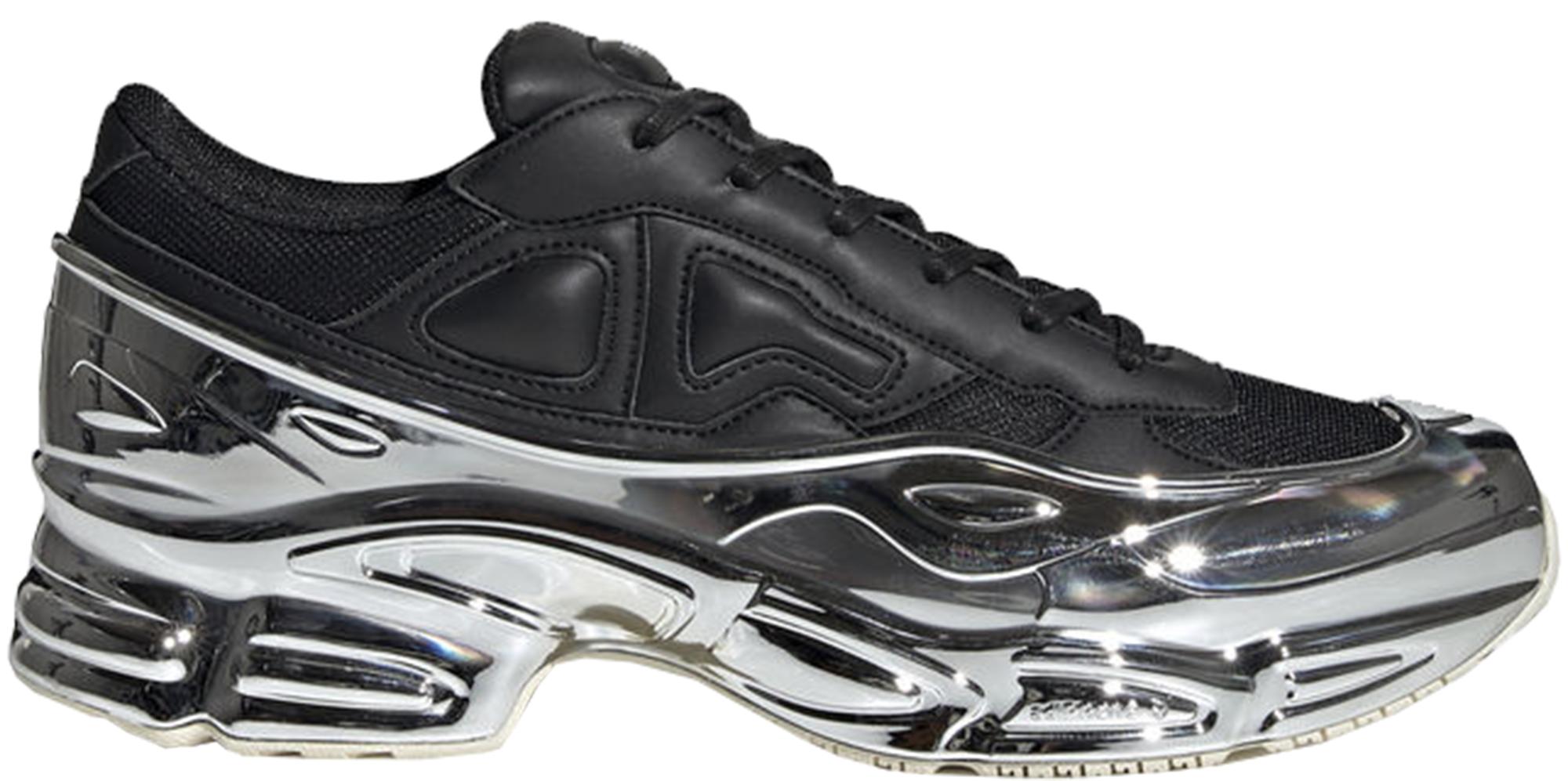 adidas Ozweego Raf Simons Core Black Silver Metallic