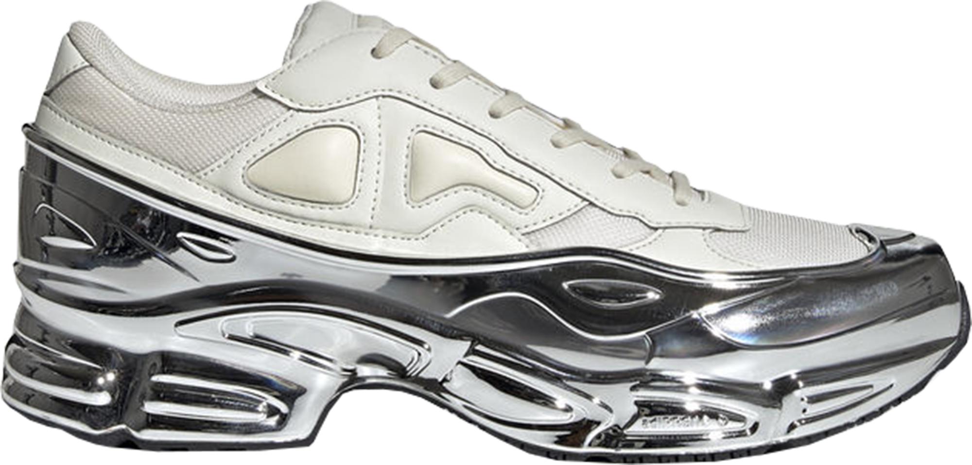 adidas Ozweego Raf Simons Cream White Silver Metallic