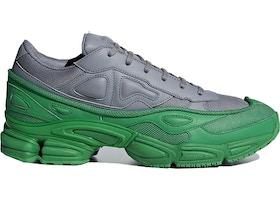 751b967a0e3 adidas Ozweego Raf Simons Green Grey