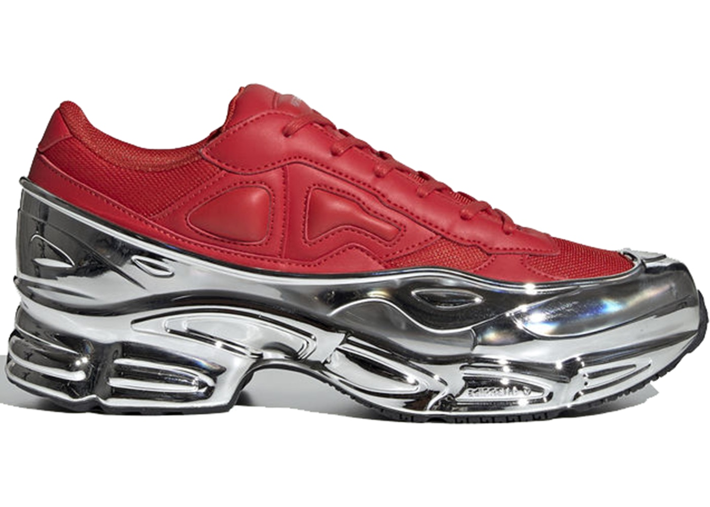 quality design 6ac4d ee2d8 adidas Ozweego Raf Simons Red Silver Metallic