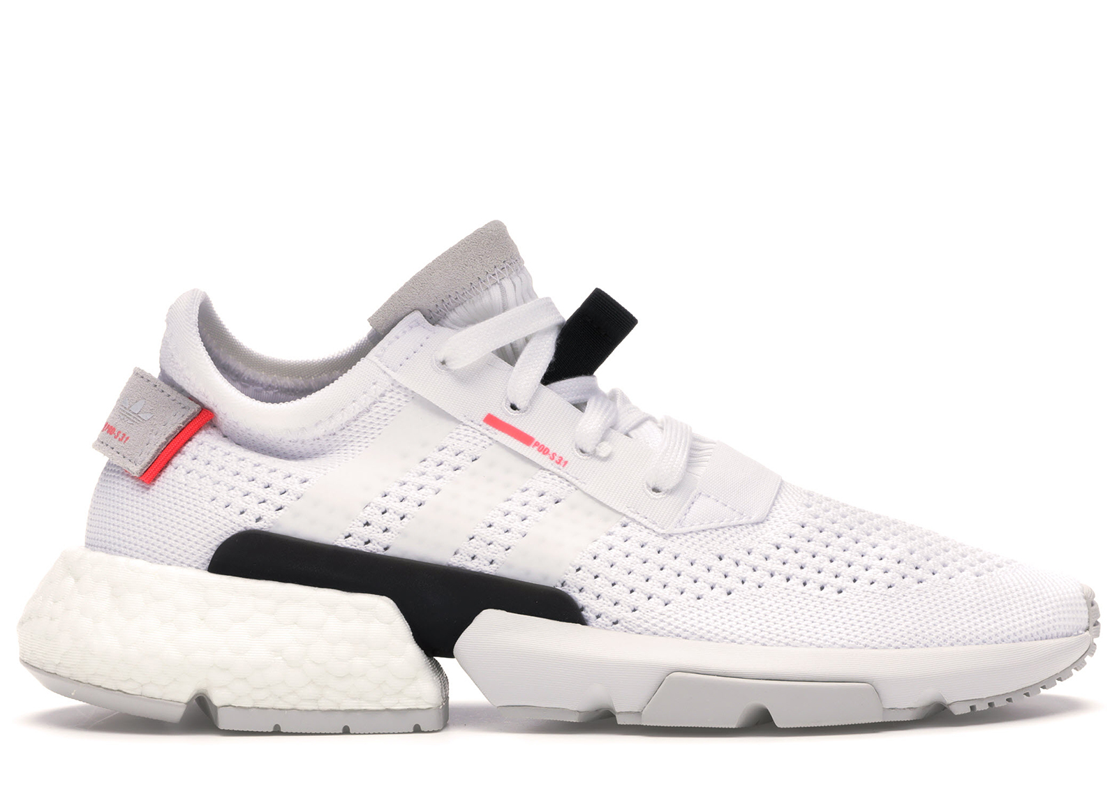 adidas POD-S3.1 Cloud White Shock Red