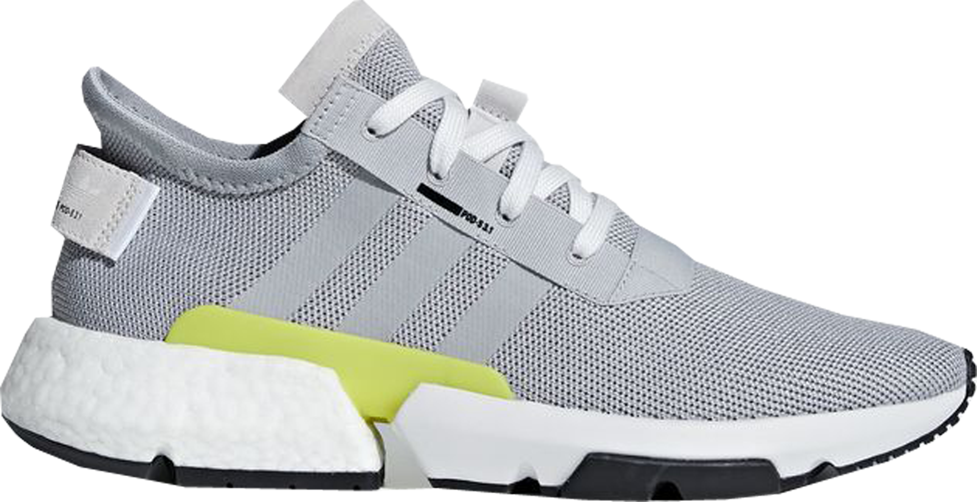 adidas POD-S3.1 Grey Two Shock Yellow