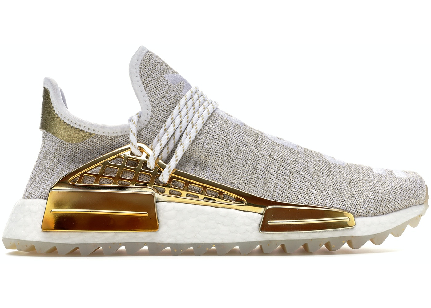 quality design 6cdea 4bce5 adidas Pharrell NMD HU China Pack Happy (Gold) (Friends and Family) - F99762