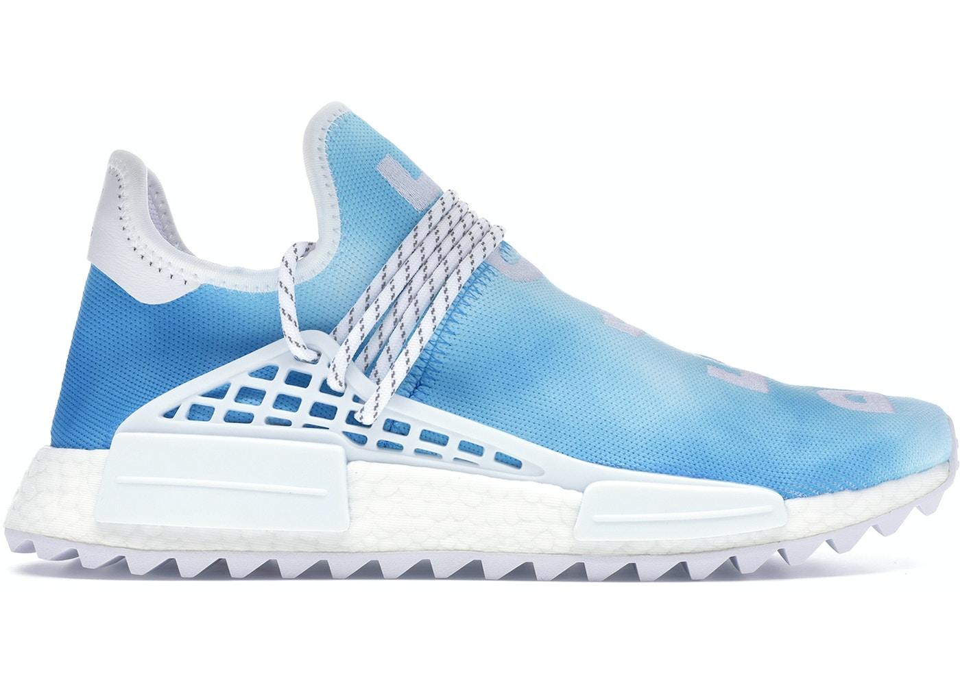meet 19cd7 932cf adidas Pharrell NMD HU China Pack Peace (Blue)
