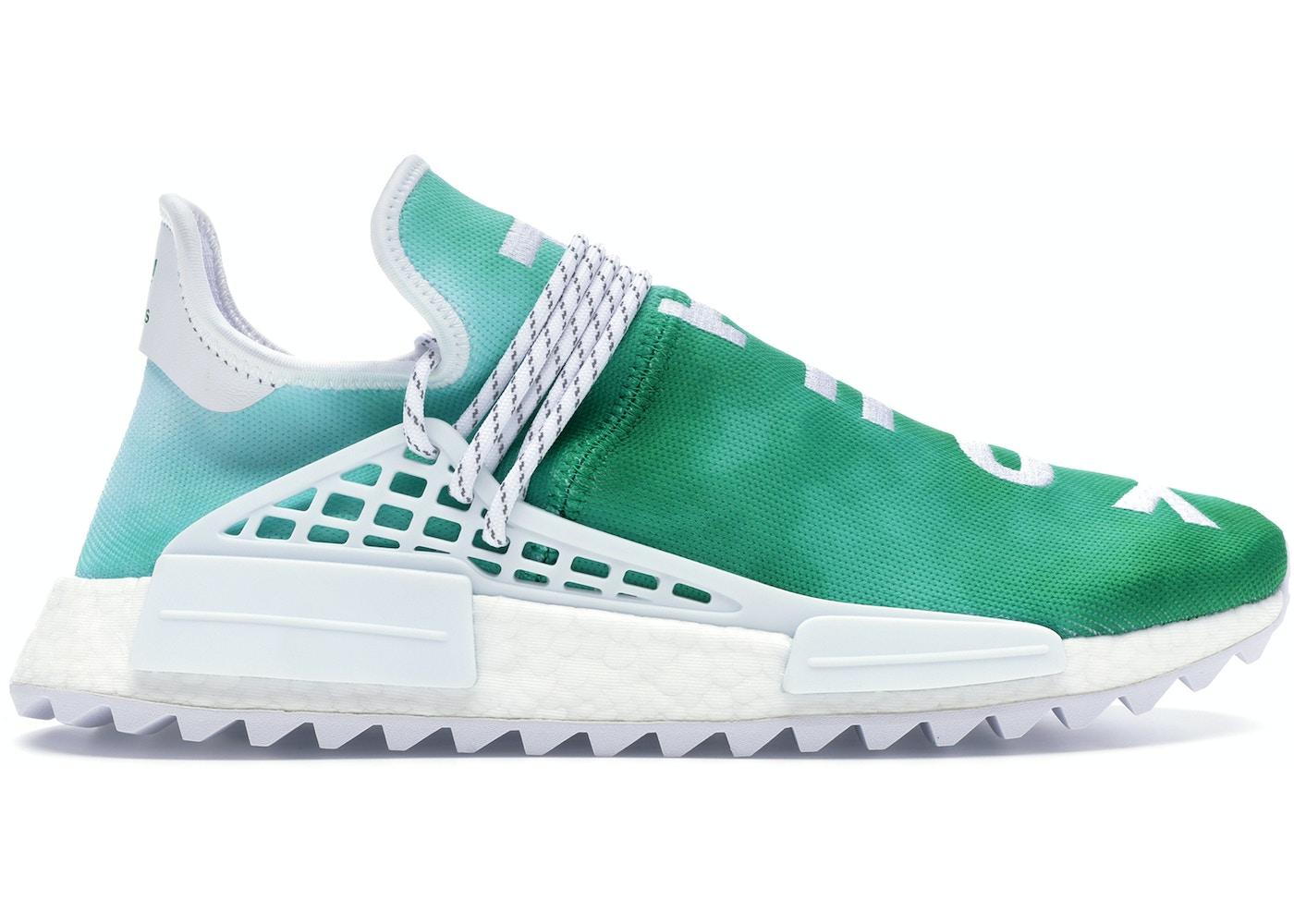 huge selection of 99635 035ad adidas Pharrell NMD HU China Pack Youth (Green)