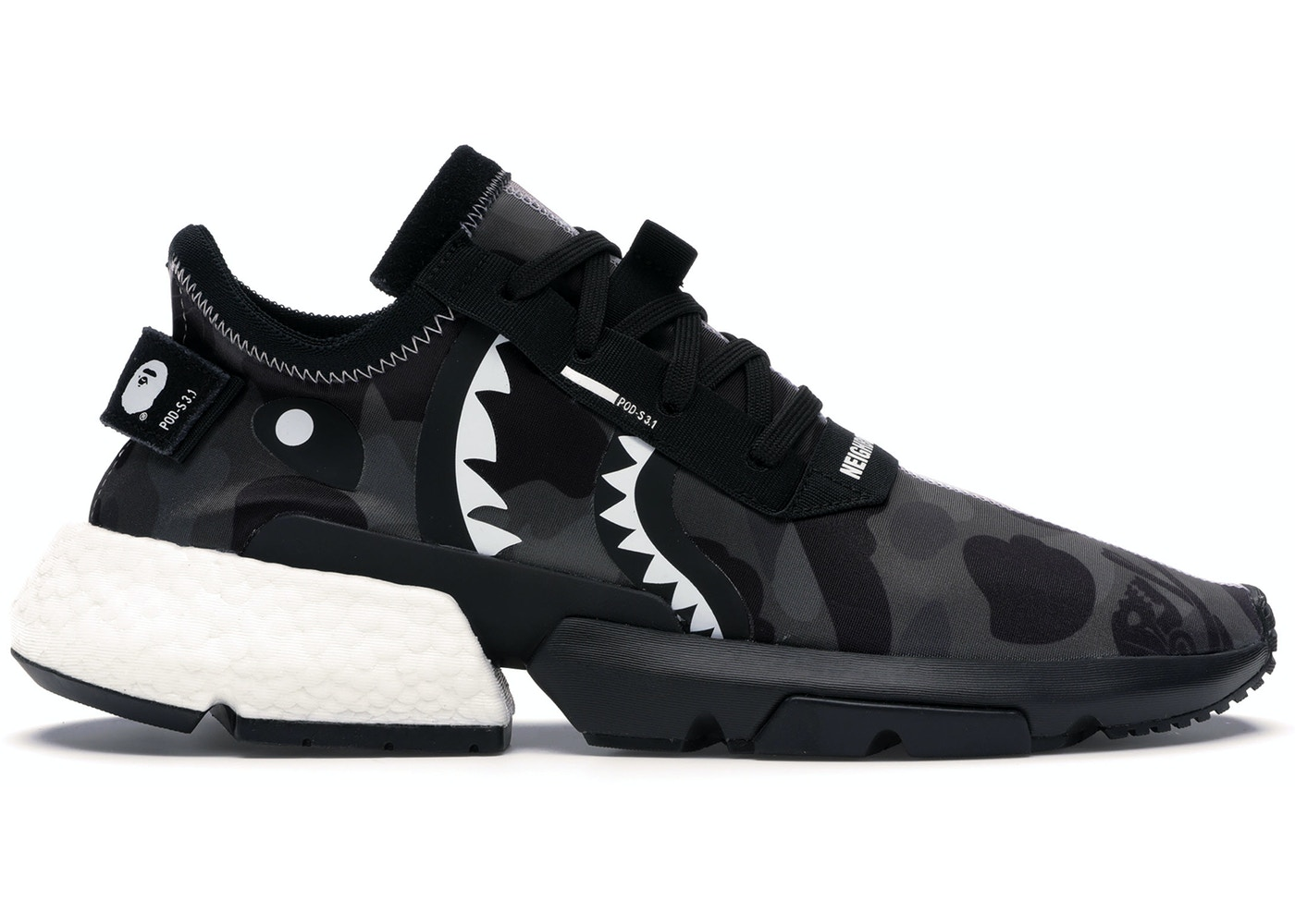 12cc4209 adidas POD S3.1 Bape x Neighborhood - EE9431