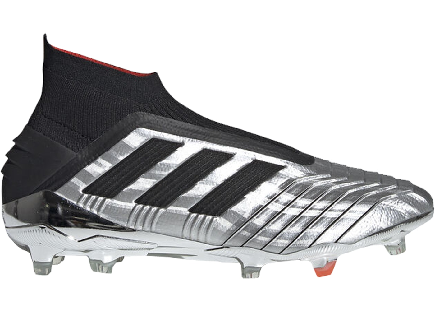 c8bc7d67 Sell. or Ask. Size 7. View All Bids. adidas Predator 19+ Firm Ground Cleat  Silver Black Red