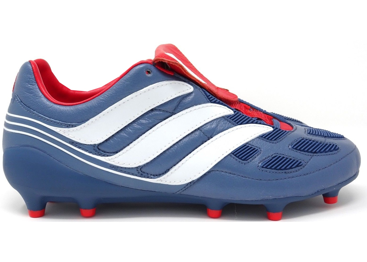adidas Predator Precision FG Blue Grey Collegiate Red - CM7911 a68d3d1d1