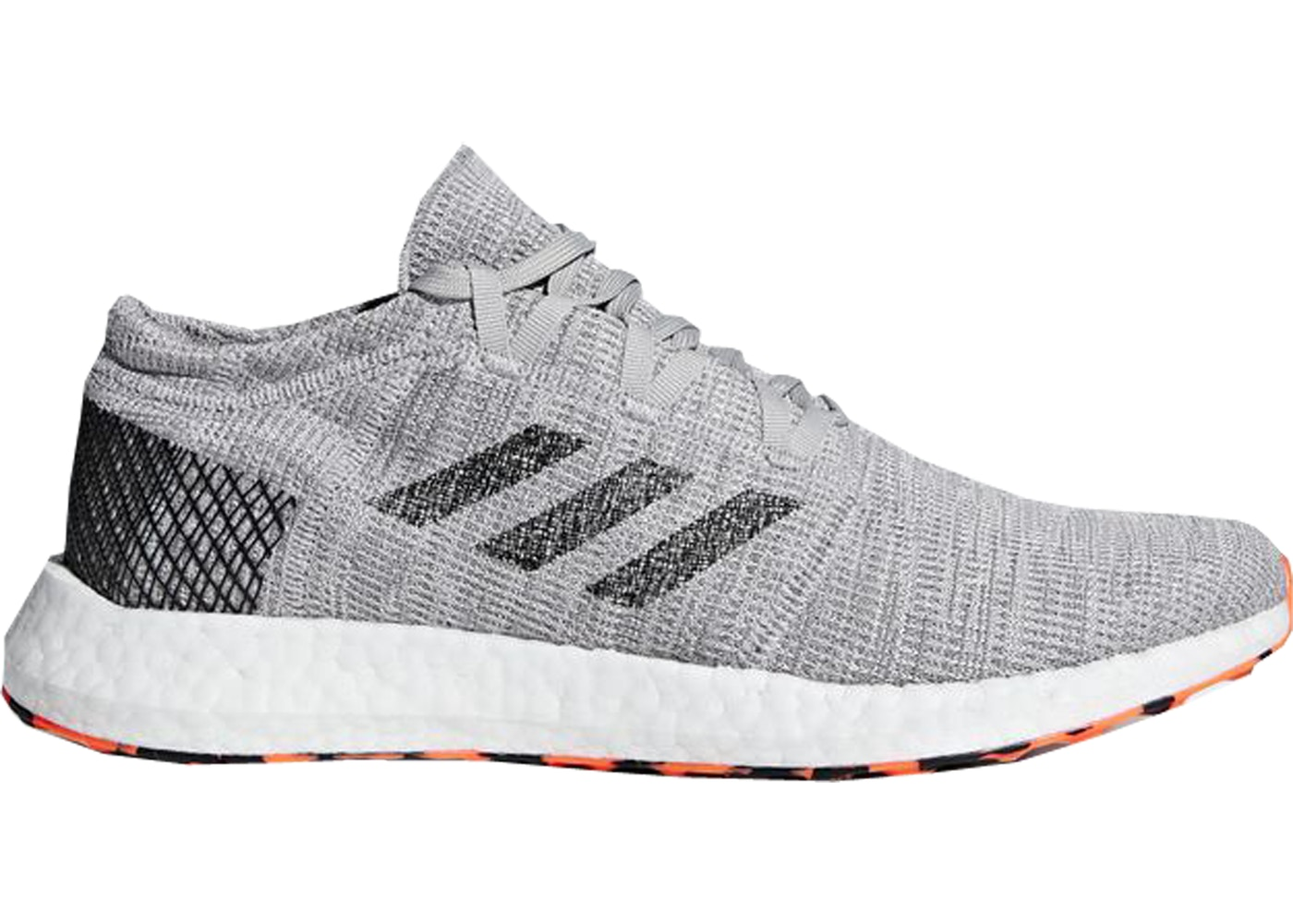 e61b5ab54 adidas Pure Boost Go Grey Three Core Black - AH2324