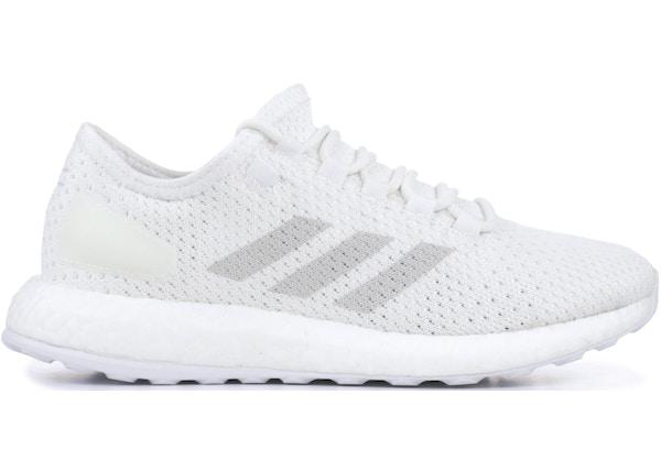 263fc75f506 adidas Pureboost Clima White Grey - BY8897