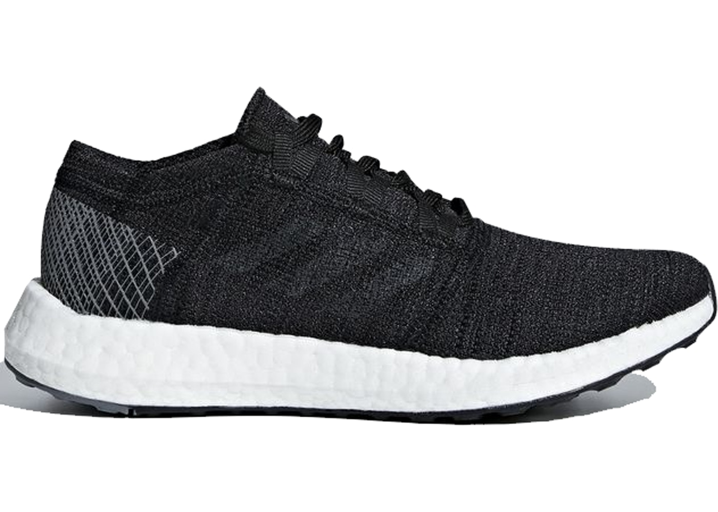 df1e7b70e adidas Pureboost Go Core Black Grey (GS) - B43503