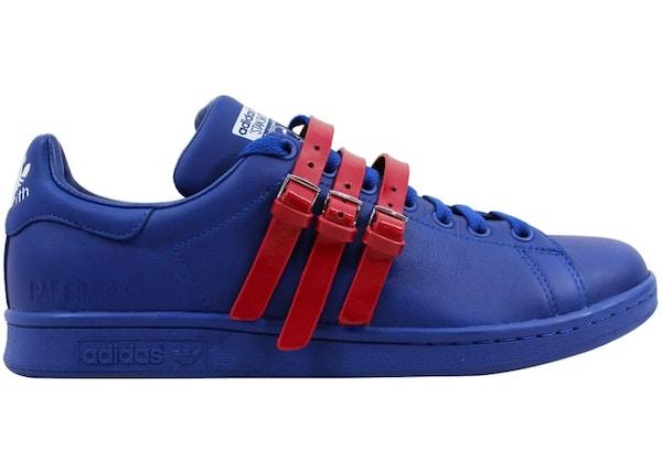 new styles d946f 41b1b adidas Raf Simons Stan Smith Strap Royal Blue/Red