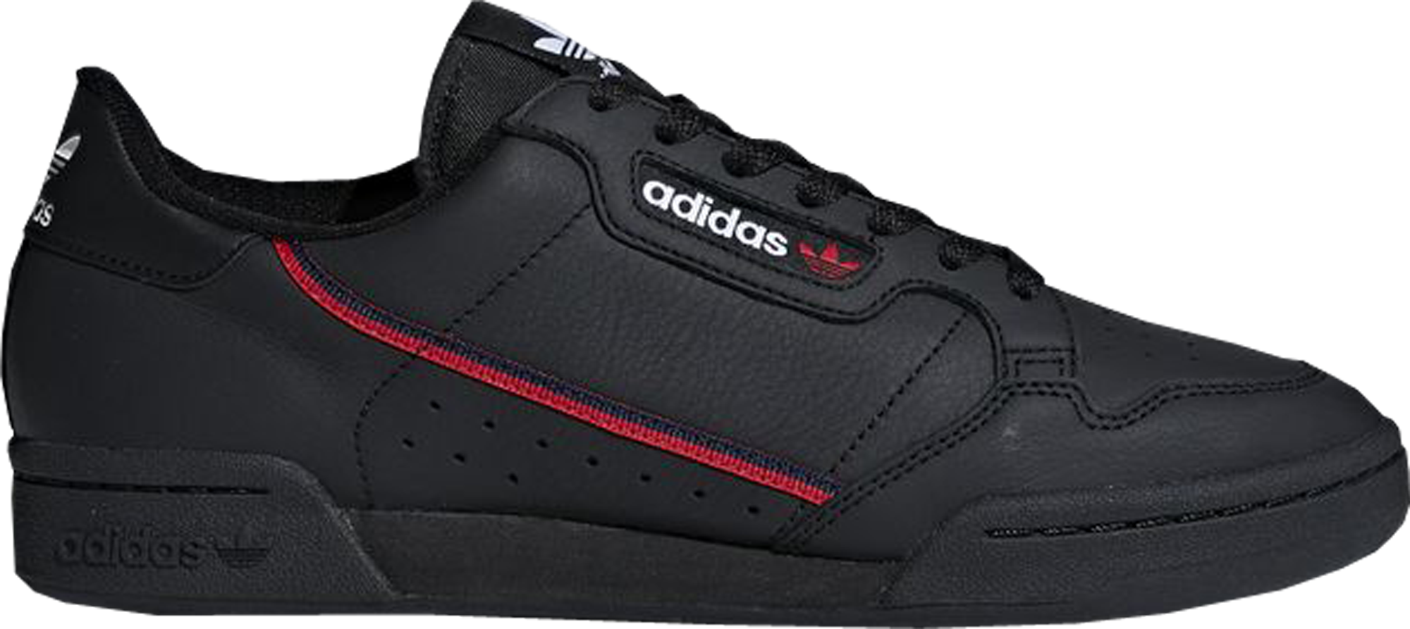 adidas Rascal Black Scarlet Navy