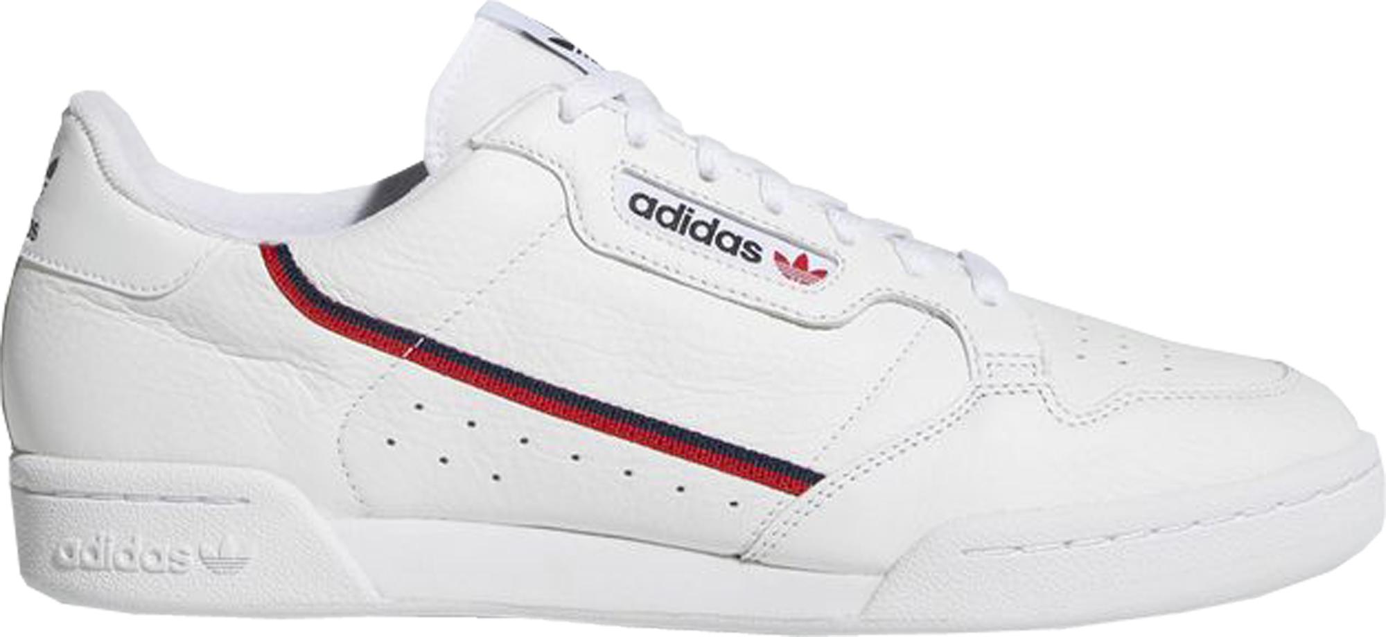adidas Rascal White Scarlet Navy