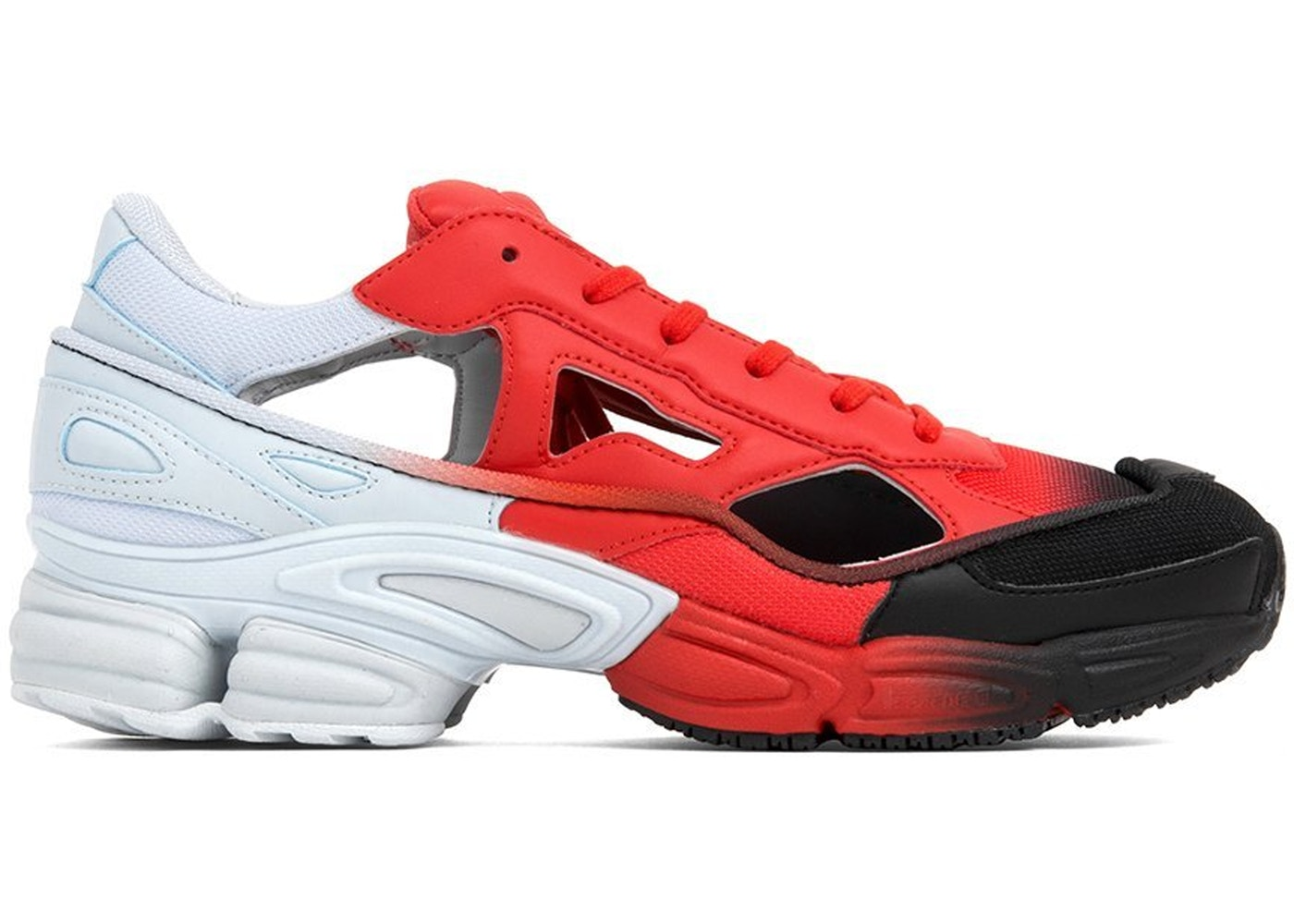 cheaper 799cd 7e4a3 adidas Replicant Ozweego Raf Simons Halo Blue Red