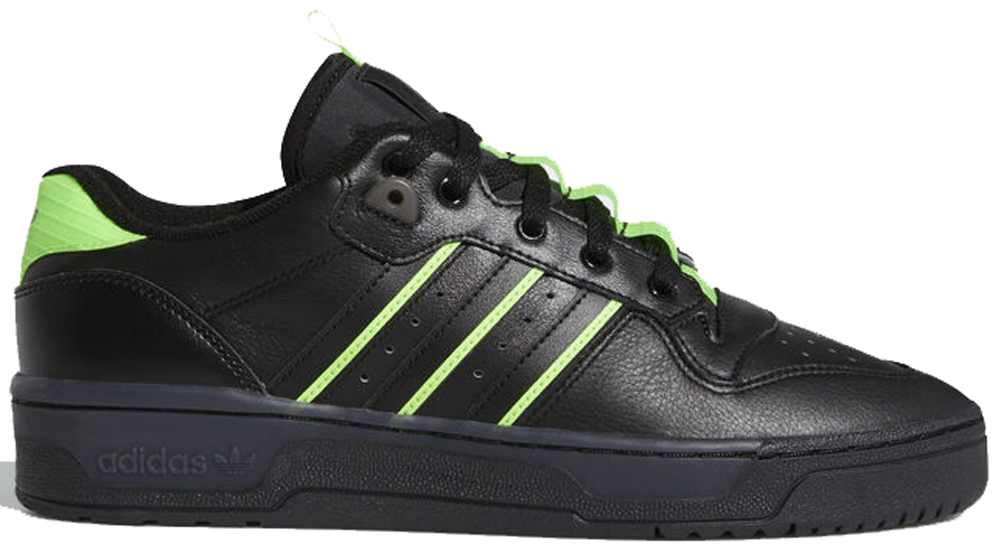 green and black adidas shoes