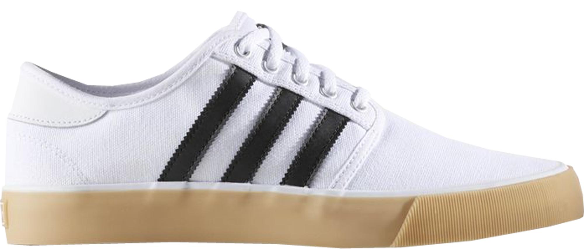 adidas Seeley Decon White Black - BB8560