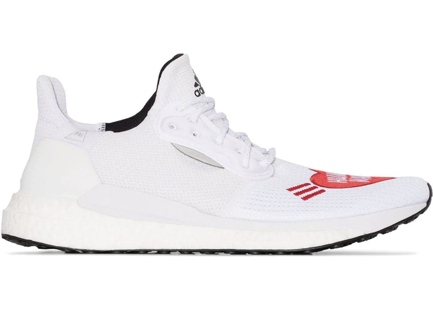 adidas Solar Hu Glide Human Made White Red