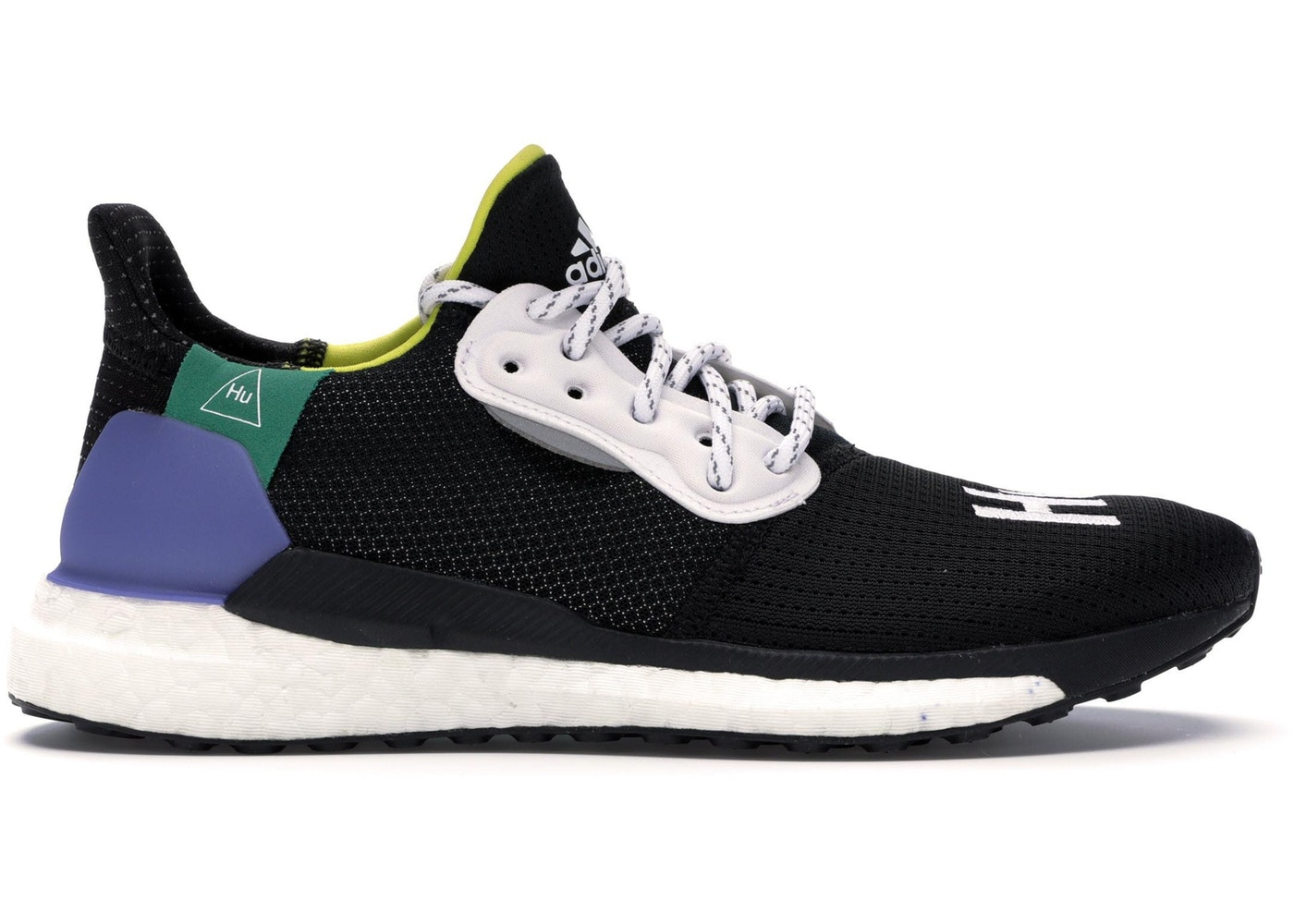 cd0c118c4 adidas Solar Hu Glide Pharrell Core Black (W) - CG6736