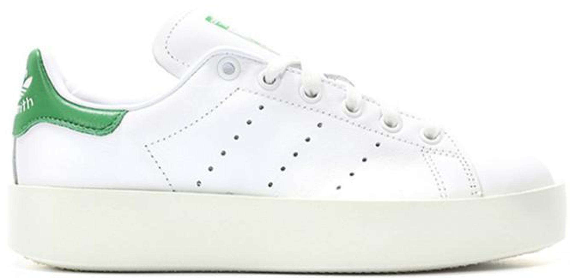 adidas Stan Smith Bold White Green (W