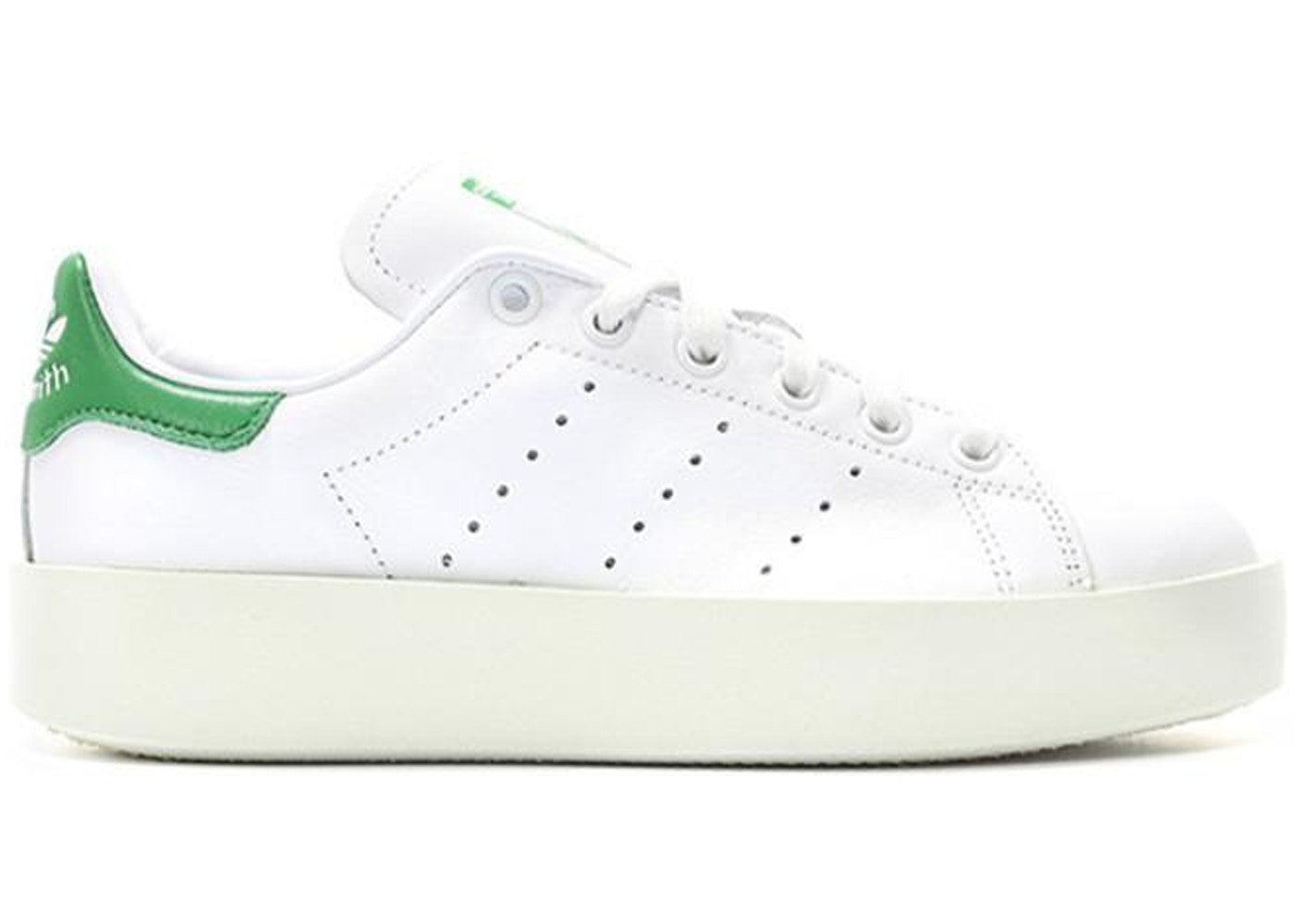 separation shoes bc7ca 1cba2 adidas Stan Smith Bold White Green (W)