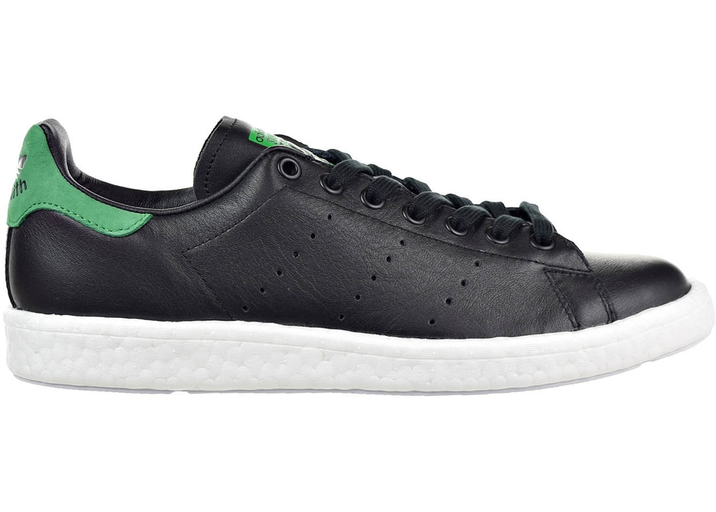 a5ee691f159 adidas Stan Smith Boost Black Green - BB0009