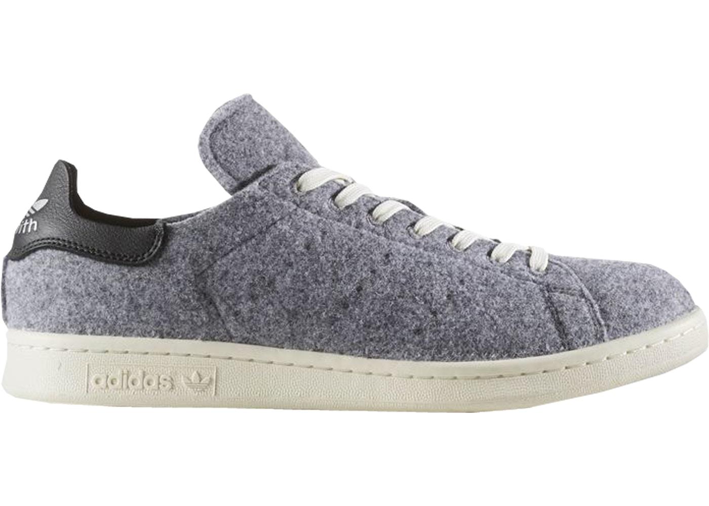 designer fashion 4841d da97d adidas Stan Smith PC Wool Grey