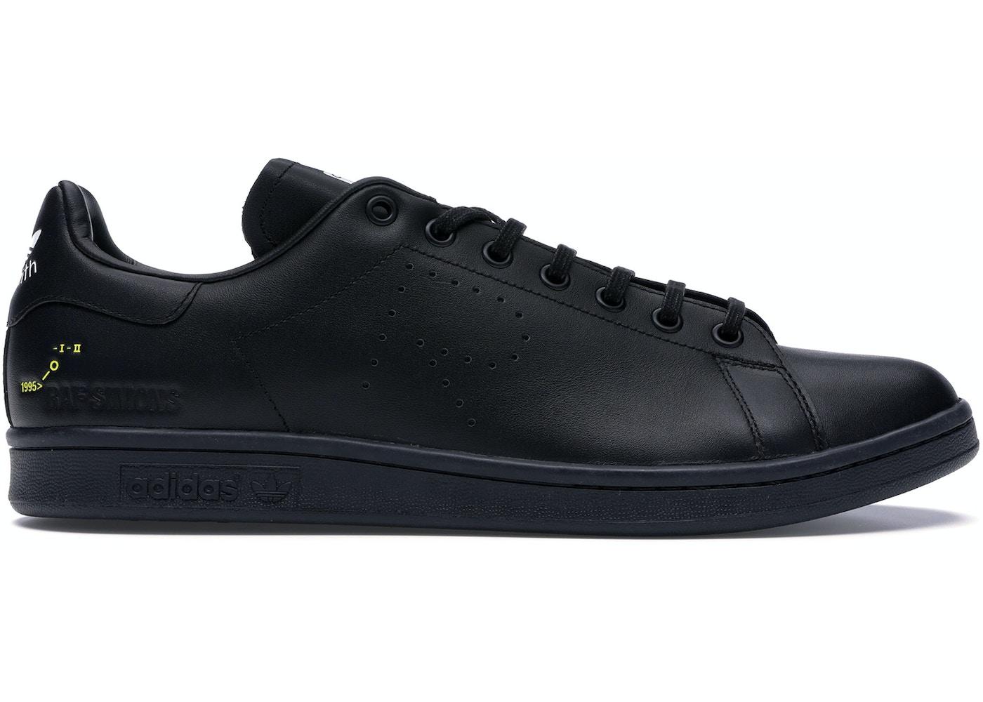 superior quality ed946 eb415 adidas Stan Smith Raf Simons Core Black