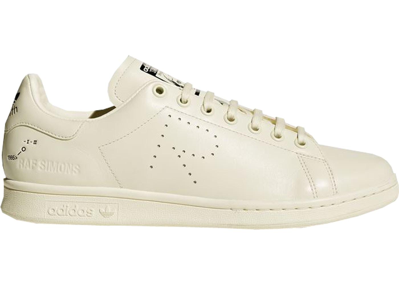 detailed look 5a5c3 d0768 adidas Stan Smith Raf Simons Cream