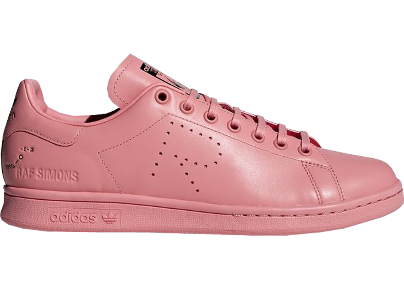 buy online b900d 339a6 adidas Stan Smith Raf Simons Pink