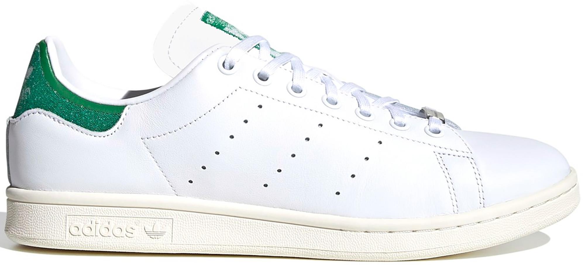 adidas Stan Smith Swarovski White Green