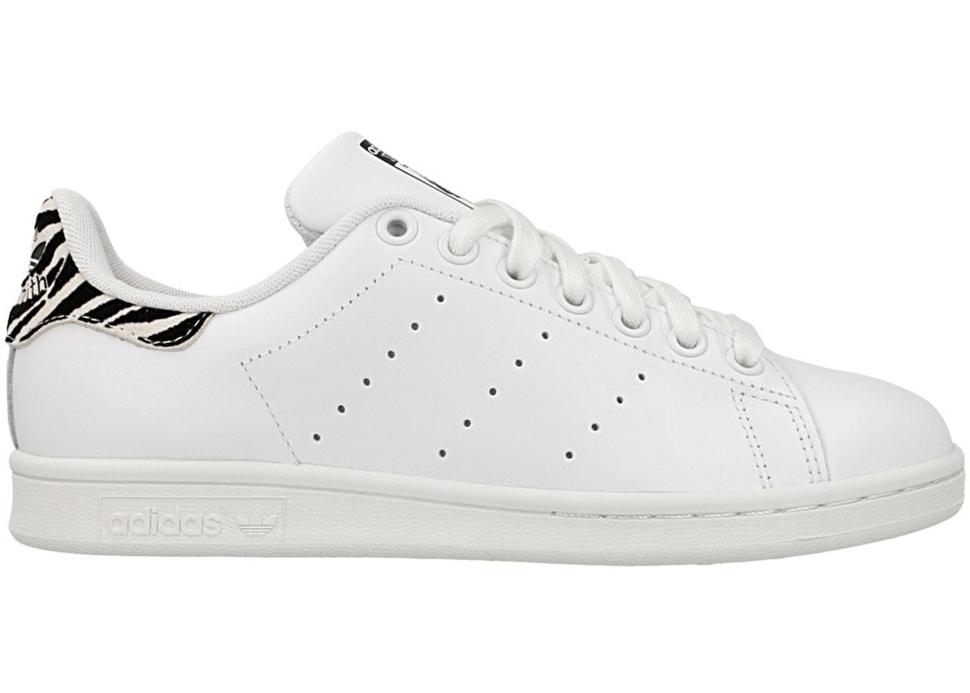 adidas stan smith zebra sneakers
