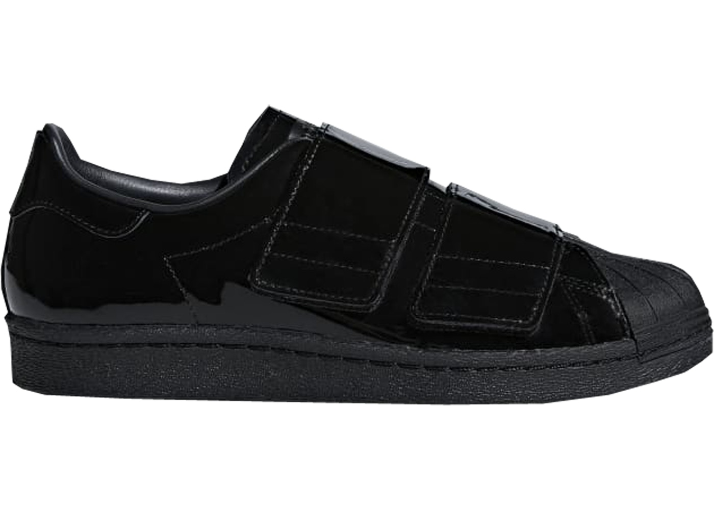 free shipping 18a8c 6d0aa adidas Superstar 80s CF Triple Black (W) - B28046